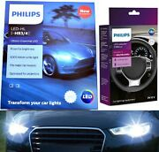 Philips Led Canceller White 9005 Two Bulbs Headlight High Beam Replace Stock Oe