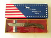 Vintage Case's Kentucky Bicentennial Knife 5137 Ss W. R. Case And Sons Cutlery Co