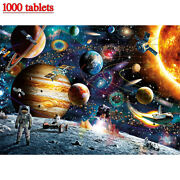 1000 Pieces Jigsaw Puzzle For Adults Kids Learning Education Astronaut Satellite