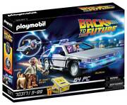 Playmobil Back To The Future Delorean Set New Unopened