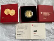 50 Chf Gold Coin Proof With Box - Womenand039s Right To Vote