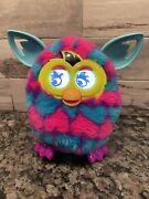 Furby Boom Electronic Interactive Toy 2012 Purple Pink Blue Hearts Working