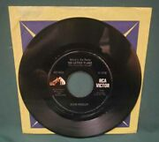 Elvis Presley Rca 447-0634 Little Sister His Latest Flame 45 Dos Dog On Side Nm