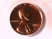 1962 Proof Lincoln Memorial Cent Penny Pcgs Pr 69 Rd 7723617