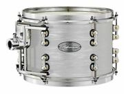 Pearl Music City Custom Reference Pure 24x14 Bass Drum W/ Mount Pearl White Oyst