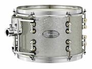 Pearl Music City Custom Reference Pure 24x18 Bass Drum W/ Mount Classic Silver S