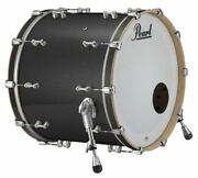 Pearl Music City Custom Reference Pure 26x14 Bass Drum W/ Mount Charcoal Black S