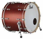 Pearl Music City Custom Reference Pure 22x18 Bass Drum Red Glass Rfp2218bx/c407