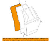 Lincoln Ford Oem Rear Door-weatherstrip Seal On Body Left 5w1z54253a11bd