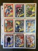 1990 91 92 93 94 Marvel Universe Cards Complete Sets + Almost All Inserts🔥 Read