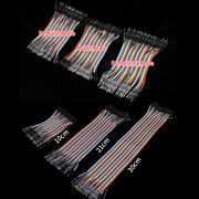 40p L10-100cm Dupont Cable Jumper Wire For 2.54mm Spacing Breadboard Headers