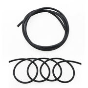 Black Stranded Wire Silicone Flexible Cables 2/4/6/7/8/10/12/13/14/15/16-30awg