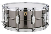 Ludwig Lb417 Supraphonic Black Beauty P-88ac With Soft Case 14x6.5 Snare Drum