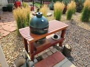 Big Green Egg, Large, Excellent Condition ,bge Table, Many Accessories. Sold