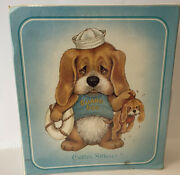 Mead 80s Critter Sitters 3-ring Binder Guard Dog Vintage Rare
