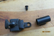 T/c Thompson Center Arms Cherokee And Seneca Peep Sight And Front Globe Sight