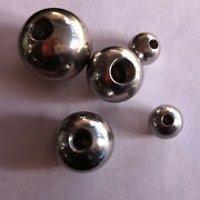 Solid Stainless Steel Metric Thread Steel Ball M3 Drilling 5mm-50mm