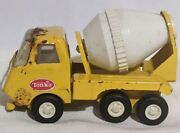 Vintage 1970's Tiny Tonka Cement Mixer Pressed Steel Scale Model Diecast Toy