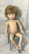 Connies Dolls Do. '88 Playtime In Fall Porcelain 1800's Boy - Vintage