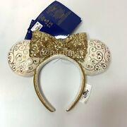 Pre-order Wdw 50th Anniversary Minnie Mouse Castle Collection Ear Headband