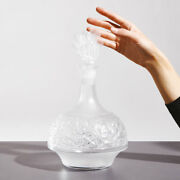 Lalique Versailles Decanter Clear Crystal 10733000