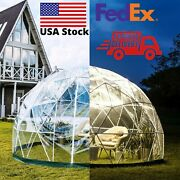 Bubble Tent Garden Igloo Led Pvc Cover Geodesic Greenhouse Dome Gazebo Party