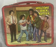 Vintage 1977 Andldquowelcome Back Kotterandrdquo Metal Lunch Box Collectible