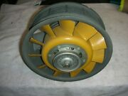 Porsche 90 Amp Rhone Alternator 11 Blade Fan And Mounting Ring. No Chips