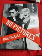 No Pictures Ron Galella Hardcover 1st Edition Signed By Author No Coa