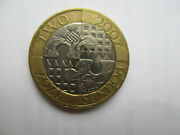 Rare Andpound2 Tercentenary Act Of Union 1707/2007 Two Pound Coin