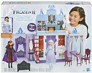 Frozen 2 Castle Of Arendelle Laptop Foldable Dolls Elsa And Anna Included