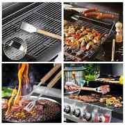 Bbq Tools Set Grill Accessories Skewers Tongs Spade Brush Outdoor 7d. Delivery