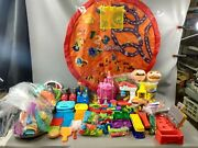 L👀k 🔥 Massive Play-doh Lot Tools Include Disney Toy Story Cars Food