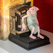 Extremely Rare Harry Potter Dobby Figurine Bookend Statue