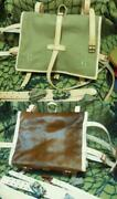 Former Japanese Army Back Sac Enacted In Showa-5 Reproduction From Japan Ju61