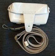 Original Military Sks Ammo White Sling Strap Pouch Pack Bag