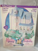 Vintage Fisher-price Precious Places Haus Magic Key Mansion / Mint In Sealed Box