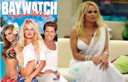 Pamela Anderson -own/worn Toga Cast Signed Baywatch-incl. David Hasselhoff 1/1