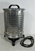 Antique 1940s Wesix Electric Space Heater Rcs-1 1/4 115 Volts 1250 Watts Works
