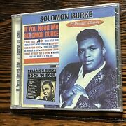 Solomon Burke If You Need Me / Rock N Soul New Collectables Col-cd-6225..
