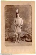 Michurina Bergamasco Photo Cabinet Russian Actress 1880 Celebrities And Musicians