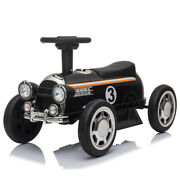 6v Electric Kids Ride On Car Toy Truck Battery W/ Music Player Led Lights Black