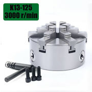 5 6-claw 125mm Self-centering Lathe Chuck Cnc Milling Drilling Individual Jaws