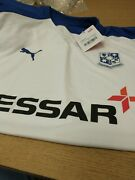 Tranmere Rovers.adults. Home Match Shirt. Men's Size L . White. Ref R15