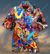 Music Is A Journey Jazz Is Getting Lost Unisex Hawaiian Shirt Full Size S-5xl