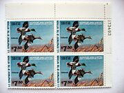 4 Plate Blocks 16 Federal Duck Stamps Rw 45 46 47 48 Mint Nh From 1978-1981