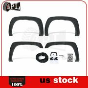 Matte For Chevy Silverado 1500/2500/3500hd 1999-2007 Fender Flares Pocket Style