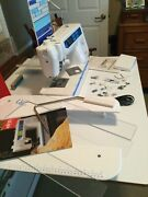 Elna Pro 7200 Sewing Machine Insert Portable Table Accessories Manual