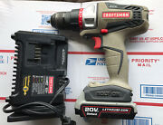 Craftsman Bolt On 20v Drill With Battery And Charged