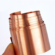 Copper Sheet Strip Skin Pure Thin Foil Plate Thickness 0.1mm-1mm Width 300mm